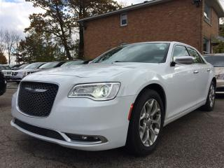 Used 2017 Chrysler 300 C PLATINUM**AWD**PANO ROOF**NAV* for sale in Mississauga, ON