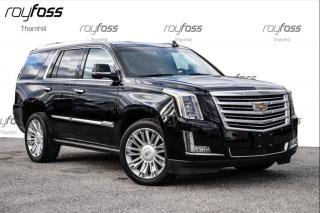 Used 2015 Cadillac Escalade Platinum Nav Roof  Pwr Boards for sale in Thornhill, ON
