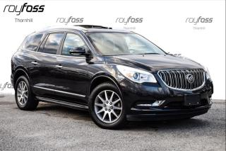 Used 2015 Buick Enclave AWD Nav Roof 7 Pass Tow Pkg for sale in Thornhill, ON