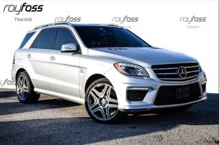 Used 2014 Mercedes-Benz ML-Class 4DR ML63 AMG Nav Roof 518HP for sale in Thornhill, ON