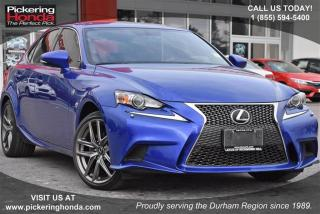 Used 2015 Lexus IS 250 AWD 6A for sale in Pickering, ON