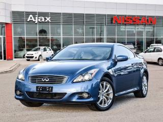 Used 2013 Infiniti G37 X Coupe AWD Premium AWD*Navigation*Luxury for sale in Ajax, ON