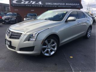 Used 2014 Cadillac ATS 2 L Turbo | AWD | NO ACCIDENTS | CAMERA ... for sale in St Catharines, ON