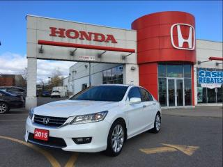 Used 2015 Honda Accord Sedan Touring, one owner, ontario car for sale in Scarborough, ON