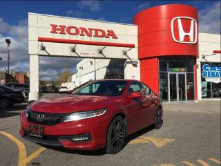 Used 2016 Honda Accord Coupe Touring, super -rare in red for sale in Scarborough, ON
