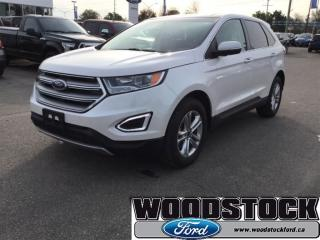 Used 2017 Ford Edge SEL SEL AWD, Leather, Roof Navagation for sale in Woodstock, ON