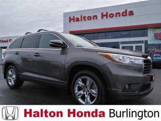 Used 2015 Toyota Highlander LIMITED|FULLY LOADED for sale in Burlington, ON