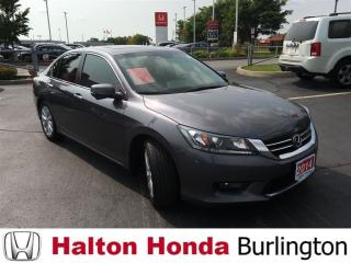 Used 2014 Honda Accord Sedan EXL|ONE OWNER|ACCIDENT FREE for sale in Burlington, ON