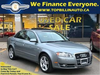 Used 2007 Audi A4 2.0T Quattro LEATHER, SUNROOF 134K kms for sale in Concord, ON