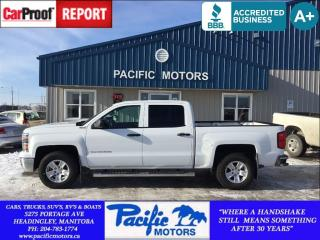 Used 2014 Chevrolet Silverado 1500 1LT*CREW*XM RADIO*$0 DOWN*LOW PAYMENTS* for sale in Headingley, MB