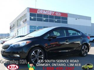 Used 2014 Kia Forte 2.0L EX SUNROOF...GAS SAVER WITH LOW PAYMENTS!!! for sale in Grimsby, ON