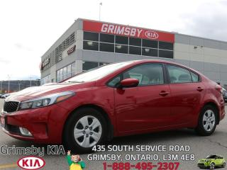 Used 2017 Kia Forte LX+...RED ROCKET!!! for sale in Grimsby, ON