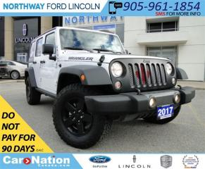 Used 2017 Jeep Wrangler Unlimited Sport | 4X4 | LOW KM | HARD TOP | for sale in Brantford, ON