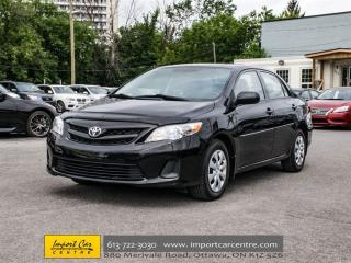 Used 2013 Toyota Corolla CE for sale in Ottawa, ON