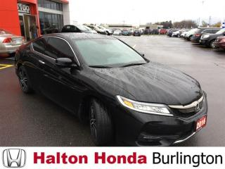 Used 2016 Honda Accord Coupe TOURING|ACCIDENT FREE|ONE OWNER for sale in Burlington, ON