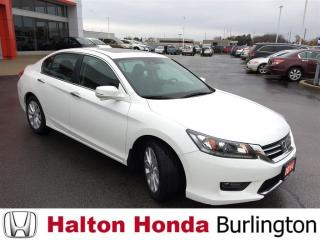 Used 2014 Honda Accord Sedan EXL|ONE OWNER|ACCDENT FREE for sale in Burlington, ON