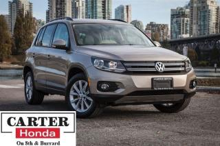 Used 2015 Volkswagen Tiguan Comfortline + NAVI + PANOROOF + LOW KMS! for sale in Vancouver, BC
