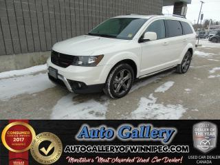 Used 2015 Dodge Journey Crossroad for sale in Winnipeg, MB