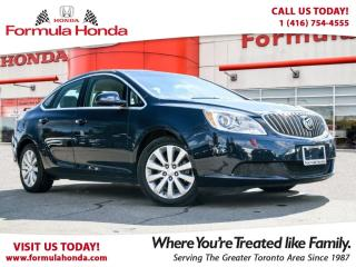 Used 2016 Buick Verano BLUETOOTH | FUEL EFFICIENT | FORMULA HONDA for sale in Scarborough, ON