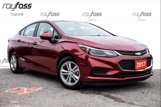 Used 2017 Chevrolet Cruze LT for sale in Thornhill, ON