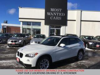 Used 2014 BMW X1 xDrive28i | PANORAMIC SUNROOF | HEATED STEERING for sale in Kitchener, ON