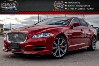 Used 2015 Jaguar XJ Premium Luxury|AWD|Navi|Pano Sunroof|Backup Cam|Bluetooth|Leather|Blind Sensor|19