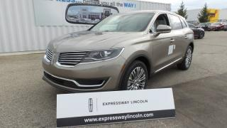 New 2018 Lincoln MKX Reserve for sale in Stratford, ON
