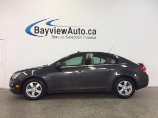 Used 2015 Chevrolet Cruze LT - AUTO! REM START! LEATHER! SUNROOF! ALLOYS! for sale in Belleville, ON