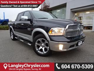 Used 2015 Dodge Ram 1500 Laramie *ACCIDENT FREE*ONE OWNER*LOCAL BC TRUCK* for sale in Surrey, BC