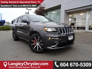Used 2014 Jeep Grand Cherokee SRT *LOCAL BC JEEP* LOW KMS*ONE OWNER* for sale in Surrey, BC
