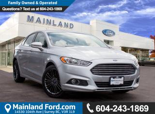 Used 2014 Ford Fusion SE NO ACCIDENTS, LOCAL, LOW KMS for sale in Surrey, BC