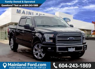Used 2016 Ford F-150 Limited NO ACCIDENTS, LOCAL for sale in Surrey, BC
