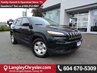 Used 2015 Jeep Cherokee Sport *ACCIDENT FREE*ONE OWNER*LOCAL BC CAR* for sale in Surrey, BC