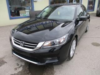 Used 2015 Honda Accord LOADED EX-L MODEL 5 PASSENGER 3.5L - V6.. LEATHER.. HEATED SEATS.. TOUCH SCREEN.. BACK-UP CAMERA.. POWER SUNROOF.. for sale in Bradford, ON