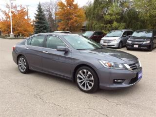 Used 2015 Honda Accord Sedan Sport...Accident Free... for sale in Milton, ON