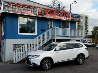 Used 2016 Mitsubishi Outlander ES AWD **Leather/Sunroof/Reverse Cam** for sale in Barrie, ON