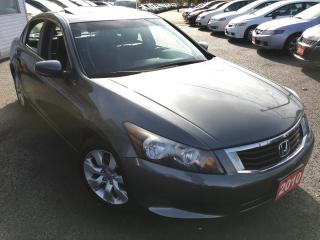 Used 2010 Honda Accord EX-L/AUTO/LEATHER/SUNROOF/HEATED SEATS/LOADED for sale in Scarborough, ON