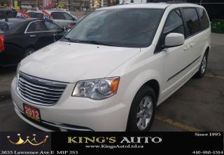Used 2012 Chrysler Town & Country TOURING, HEATED SEATS, DVD PACKAGE for sale in Scarborough, ON