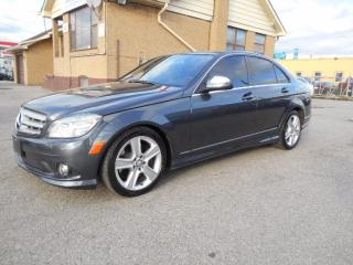 Used 2009 Mercedes-Benz C 300 4MATIC 3.0L V6 Leather Sunroof ONLY 126,000KMs for sale in Etobicoke, ON