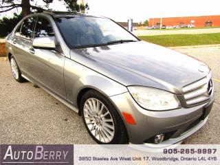 Used 2008 Mercedes-Benz C-Class C230 - 2.5L for sale in Woodbridge, ON