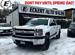Used 2015 Chevrolet Silverado 1500 LS CREW CAB 4X4 WITH CUSTOM RIMS & TIRES for sale in Barrie, ON