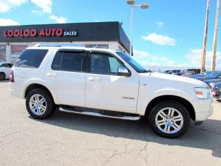 Used 2007 Ford Explorer Limited V8 4x4 7 Passenger Navigation Sunroof for sale in Milton, ON