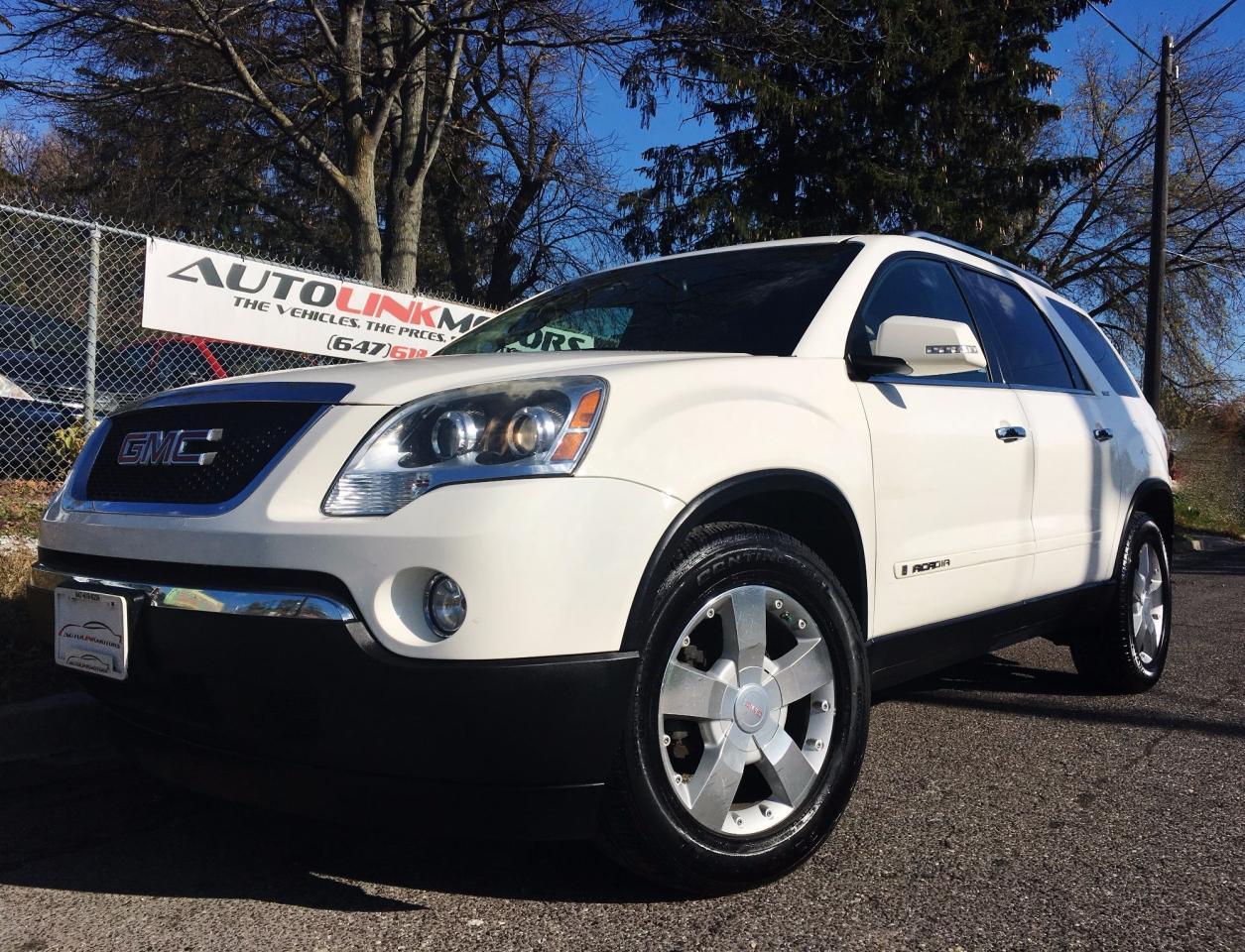 Used 2008 Gmc Acadia Slt2 For Sale In Scarborough Ontario