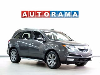 Used 2012 Acura MDX TECH PKG NAVIGATION DVD LEATHER SUNROOF 7 PASS 4WD for sale in North York, ON