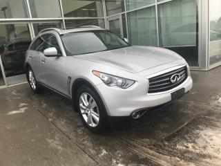 Used 2013 Infiniti FX37 NAV/AROUND VIEW MONITOR/HEATED AND COOLED SEATS/BOSE AUDIO for sale in Edmonton, AB
