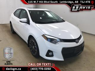 Used 2015 Toyota Corolla for sale in Lethbridge, AB