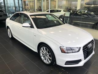 Used 2015 Audi A4 2.0T Progressiv S-Line, Navigation, for sale in Edmonton, AB