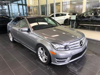 Used 2013 Mercedes-Benz C-Class Sport, Heated Seats for sale in Edmonton, AB