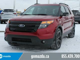 Used 2015 Ford Explorer Sport 4x4 LEATHER SUNROOF NAVIGATION HEATED AND COOLED SEATS for sale in Edmonton, AB