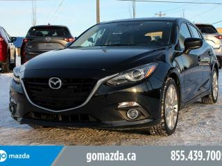 Used 2015 Mazda MAZDA3 GT SPORT NAVIGATION BOSE SOUND SYSTEM 1 OWNER ACCIDENT FREE LOCAL for sale in Edmonton, AB